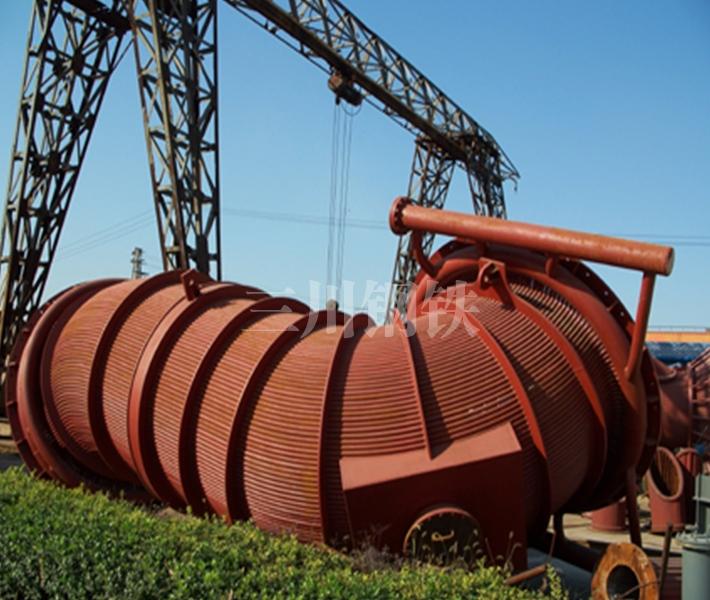 50噸轉爐煙道2