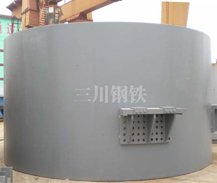 120噸轉爐中段