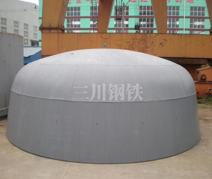 120噸轉爐下段