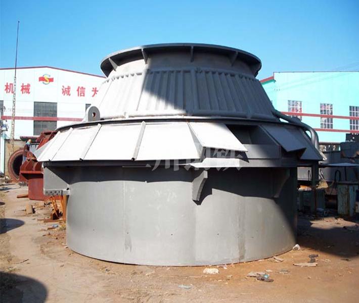 80噸轉爐上段