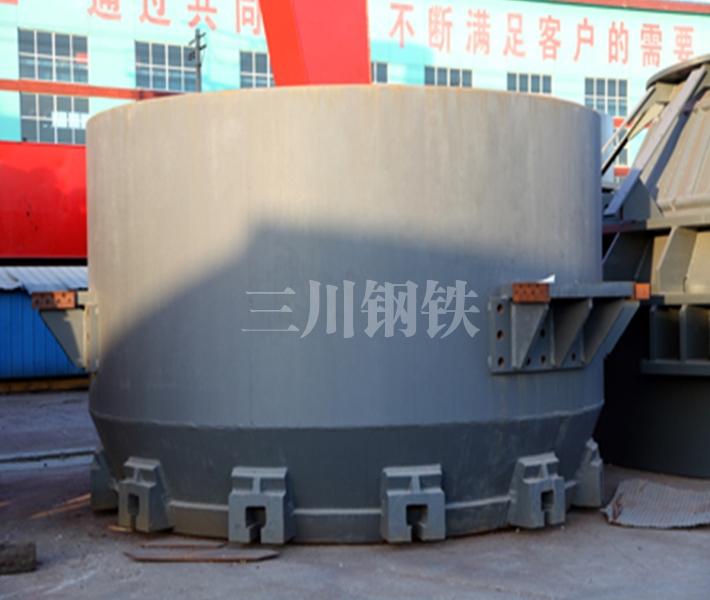 60噸轉爐下段