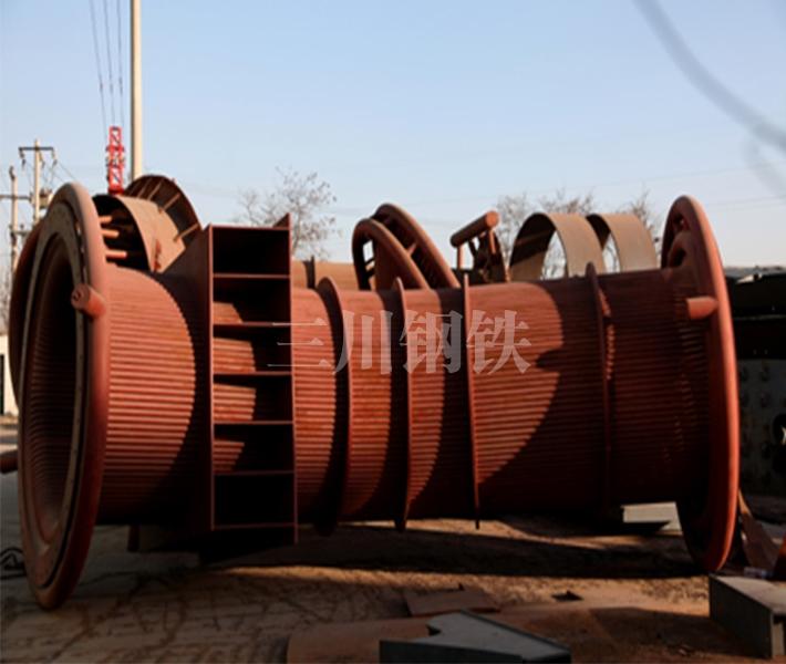 50噸轉爐煙道1