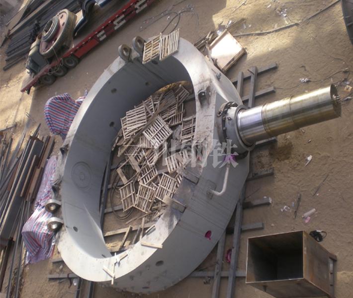 150噸轉爐托圈本體