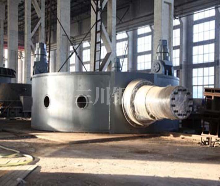 70噸轉爐托圈本體