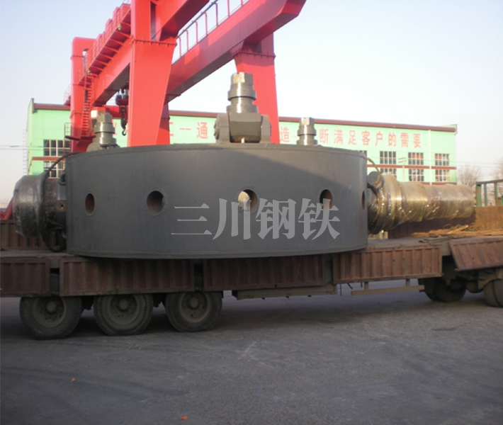 50噸轉爐托圈本體