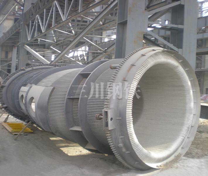 120噸轉爐煙道